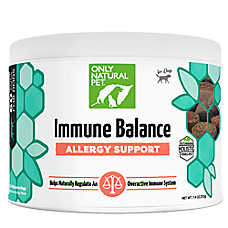 Only Natural Pet® Immune Balance Allergy Support Soft Dog Chews