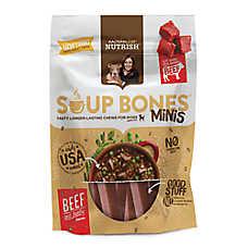 Rachael Ray™ Nutrish® Soup Bones Mini Dog Treat - Beef & Barley Flavor