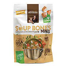 Rachael Ray™ Nutrish® Soup Bones Mini Dog Treat- Chicken & Veggies Flavor