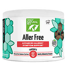Only Natural Pet® Aller Free Advanced Allergy Support Soft Dog Chews
