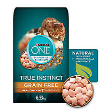 Purina One® True Instinct Adult Cat Food - Grain Free, Chicken