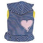 ED Ellen DeGeneres Heart & Stripes Hooded Pet Dress