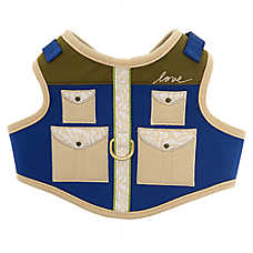 ED Ellen DeGeneres Safari Vest Dog Harness