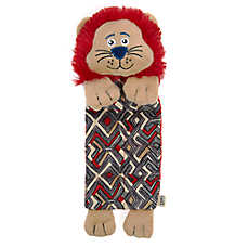 ED Ellen DeGeneres Safari Lion Mat Dog Toy - Plush, Squeaker