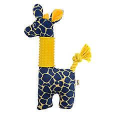 ED Ellen DeGeneres Safari Giraffe Dog Toy - Plush, Squeaker