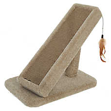 Whisker City® Cat Scratcher & Teaser