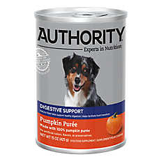 Authority® Digestive Support Dog Food Supplement - Pumpkin Puree