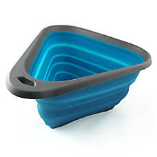 Kurgo® Mash & Stash Collapsible Bowl™ Travel Dog Bowl