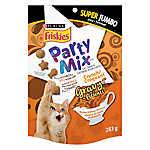 Purina® Friskies® Party Mix Favorites Cat Treat, Jumbo - Chicken & Gravy