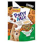 Purina® Friskies® Party Mix Favorites Cat Treat, Jumbo - Turkey & Gravy