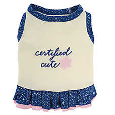 "ED Ellen DeGeneres ""Certified Cutie"" Pet Dress"