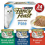 Fancy Feast® Seafood Supper Pate Cat Food - Variety Pack, 24 Ct