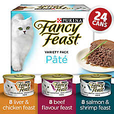 Fancy Feast® Pate Cat Food - Variety Pack, 24 Ct