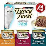Fancy Feast® Pate Cat Food - Variety Pack, 24 Ct