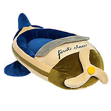 "ED Ellen DeGeneres Safari ""First Class"" Plane Pet Bed"