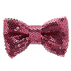 Top Paw® Sequin Bling Bow Tie Collar Slide Accessory