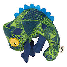ED Ellen DeGeneres Safari Chameleon Dog Toy - Plush, Squeaker