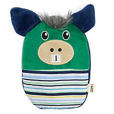 ED Ellen DeGeneres Donkey Flattie Dog Toy - Crinkle
