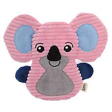 ED Ellen DeGeneres Koala Flattie Dog Toy - Crinkle