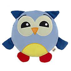 ED Ellen DeGeneres Owl Round Squeaker Dog Toy