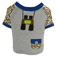 ED Ellen DeGeneres Safari Explorer Pet Tee