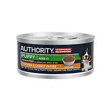 Authority® Ground Entree Wet Puppy Food - Grain Free