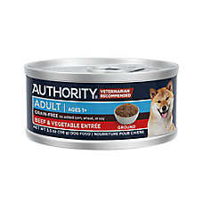 Authority® Ground Entree Wet Adult Dog Food - Grain Free