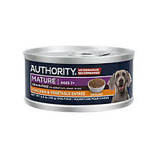 Authority® Ground Entree Wet Mature Adult Dog Food - Grain Free