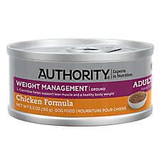 Authority® Weight Management Ground Entree Adult Wet Dog Food