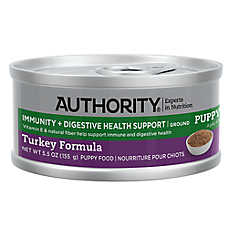 Authority® Immunity + Digestive Healthy Support Ground Entree Wet Puppy Food