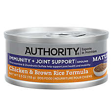Authority® Immunity + Joint Support Mature Adult Wet Dog Food