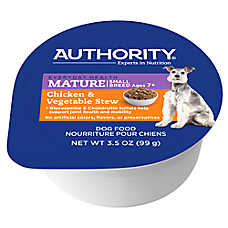 Authority® Small Breed Stew Wet Mature Adult Dog Food