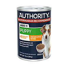 Authority® Ground Entree Wet Puppy Food