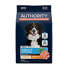 Authority® Large Breed Adult Dog Food - Grain Free, Chicken & Pea