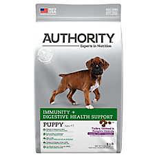 Authority® Immunity + Digestive Health Support Puppy Food - Turkey, Oatmeal & Pumpkin