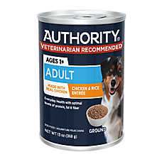 Authority® Ground Entree Adult Wet Dog Food