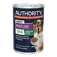 Authority® Ground Entree Mature Adult Wet Food