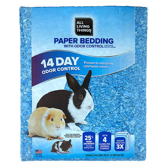 All Living Things 174 Odor Control Small Pet Paper Bedding
