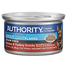 Authority® Flaked Entree Adult Wet Cat Food - Grain Free