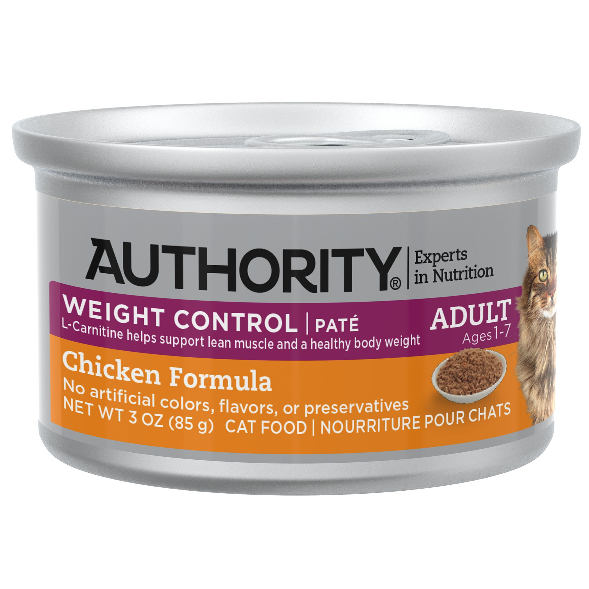 Authority Weight Control Pate