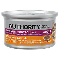 Authority® Weight Control Pate Adult Wet Cat Food