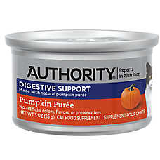 Authority® Digestive Support Cat Food Supplement - Pumpkin