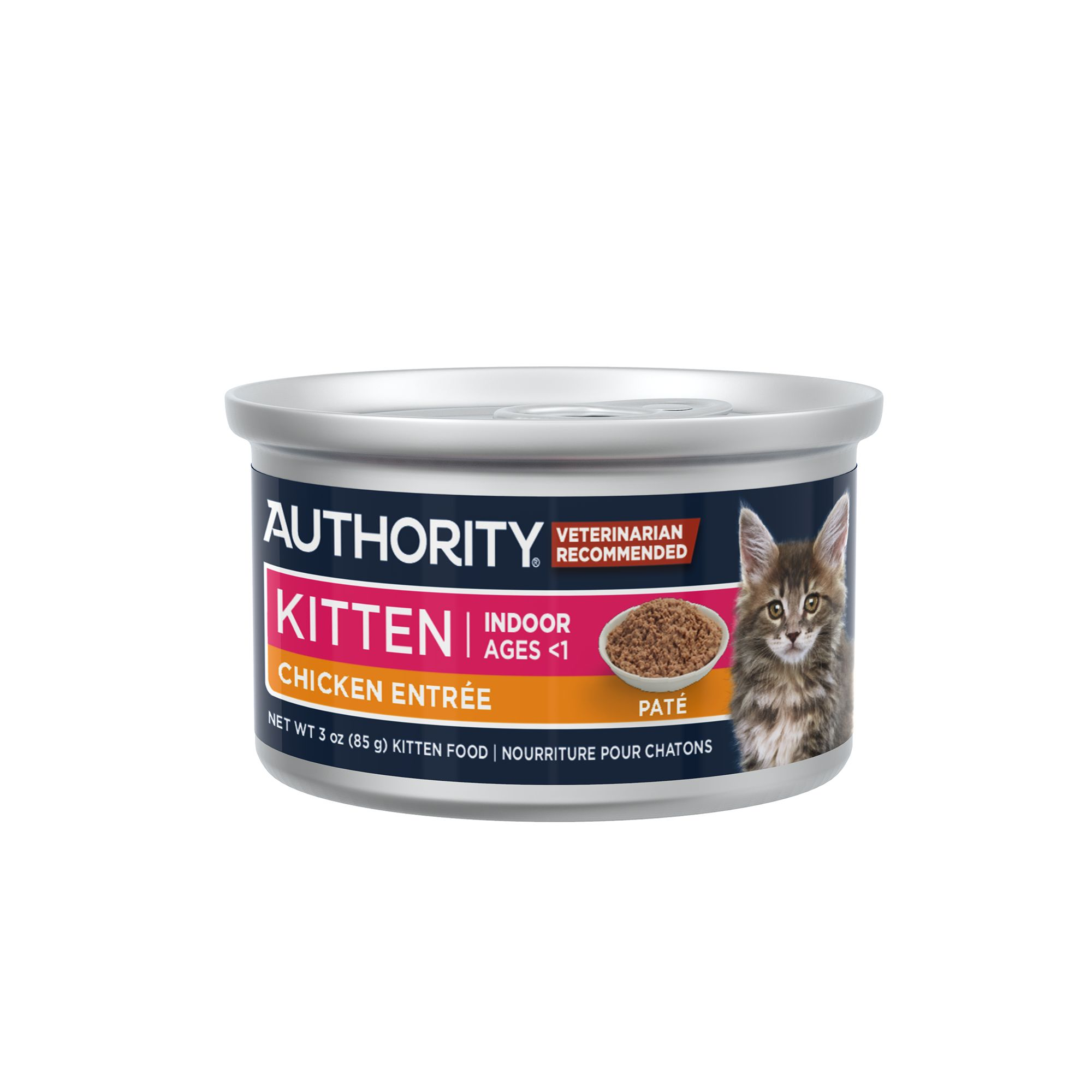Authority Pate Entree Kitten Food Cat Wet Food Petsmart