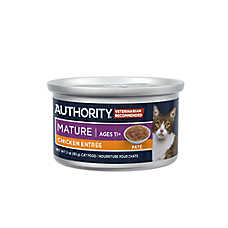 Authority® Pate Entree Mature Adult Wet Cat Food
