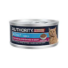 Authority® Shredded in Gravy Adult Wet Cat Food