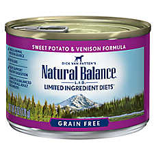 Natural Balance Limited Ingredient Diets Dog Food - Grain Free, Sweet Potato & Venison Formula