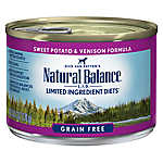 Natural Balance Limited Ingredient Diets Dog Food - Grain Free, Sweet Potato & Venison Formula