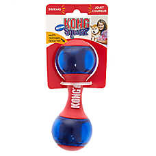 KONG® Action Squeezz™ Dumbbell Dog Toy - Squeaker