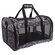 "Whisker City® ""Meow"" Soft-Sided Cat Carrier"