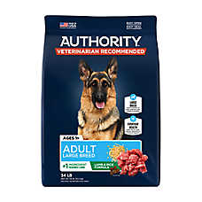 Authority® Large Breed Adult Dog Food - Lamb & Rice